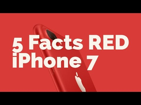 RED iPhone 7/7 Plus | 5 Facts | Review | Comparison
