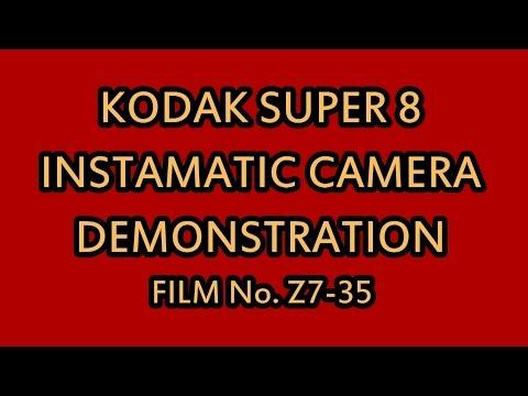 Kodak Super 8 Instamatic Movie Camera  Projector Demonstration Film No. Z7-35_01