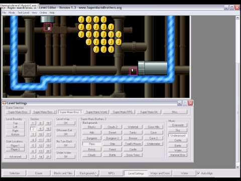 SMBX Tutorial: How to make a warp, door or Super Mario Bros 2 potion in Super Mario Bros X
