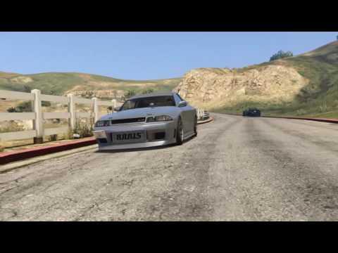GTA 5 Elegy Retro/Nissan Skyline Feature