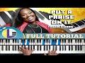 🎵 PUT A PRAISE ON IT Tasha Cobbs PIANO TUTORIAL: How to play PUT A PRAISE ON IT (gospel piano)