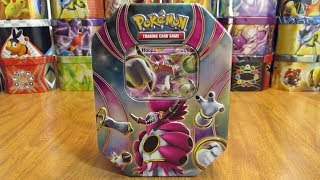 25 Pokemon Tin Opening: Hoopa EX