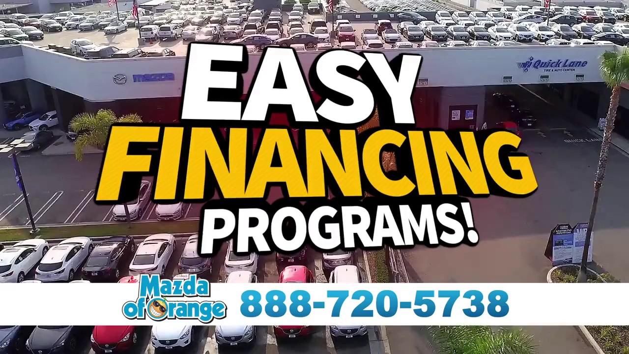 Mazda of Orange Year End Sales Event - Easy Financing Programs