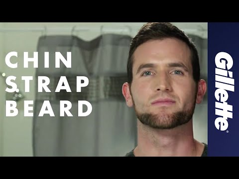 Shaping a Beard: Chin Strap Beard Style   Gillette STYLER