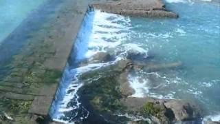 Grandes marées Saint-Malo  La mer se retire au fort national