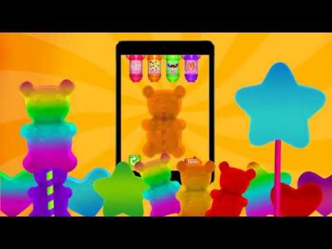 Make Giant Gummy Candy with iMake Giant Gummies by Cubic Frog® Apps!