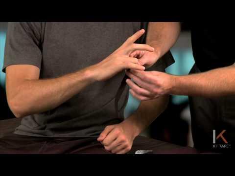 KT Tape: Finger jam