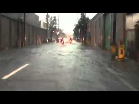 Flooding in Makati