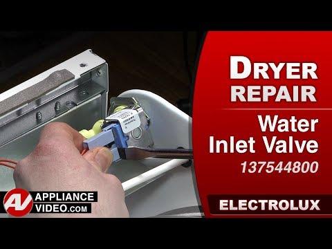 Electrolux Dryer - Water Inlet Valve - Diagnostic & Repair