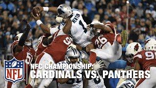 Cam Newton S Superman Leap For A Big Td Cardinals Vs Panthers Nfl