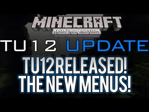 Minecraft: Xbox 360 - TU12 RELEASED | Favorite Skins Menu, Texture/Mash-Up Pack Menu