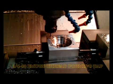 Drilling and tapping 316 stainless