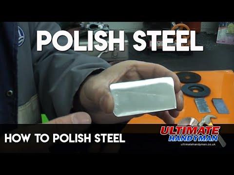 How to polish steel