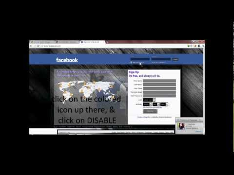 How to change facebook theme with Google chrome
