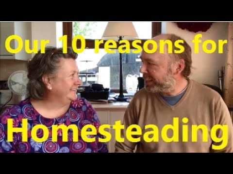 Our 10 Reasons for Homesteading