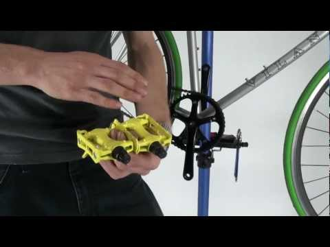 How To Remove and Install Basic Bicycle Pedals