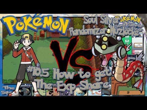 Pokemon Soul Silver Randomizer Nuzlocke How to get the EXP share