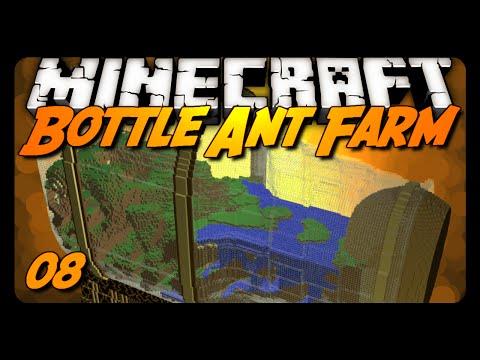 Minecraft | Bottle Ant Farm Survival - 08 - THE GOLDEN APPLE!?