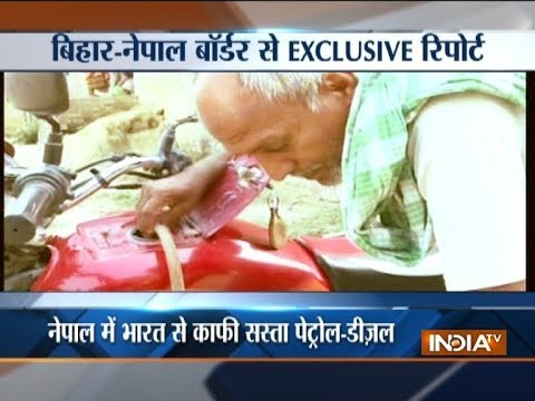 Petrol, diesel being smuggled from Nepal into Bihar, sold at lower prices