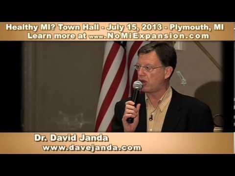 Dr. David Janda Michigan Medicaid Expansion and Obamacare Part 1 of 2