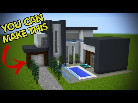 5 Easy Steps To Make A Minecraft Modern House