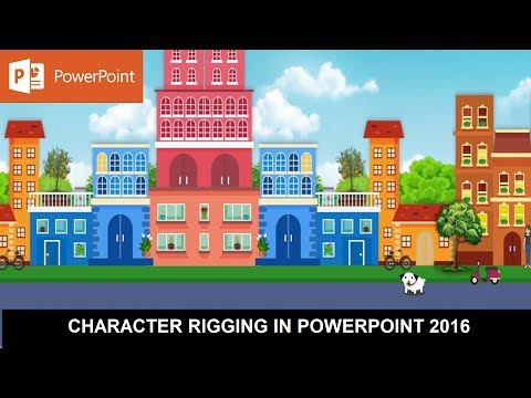 Harlow - The Dog | Character Rigging in PowerPoint 2016 | Motion Graphics Tutorial