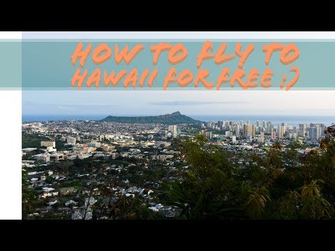 How to get free flights to Hawaii