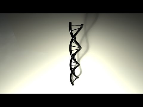 How to create a DNA strand in Maya 2016
