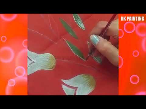Learn Fabric Painting with easy steps : RK Painting