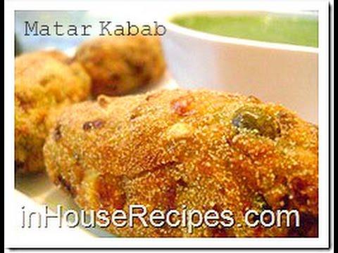 Matar Kabab Corn Cutlets