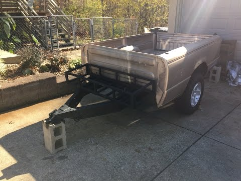 Off Road Truck Bed Trailer Build 3