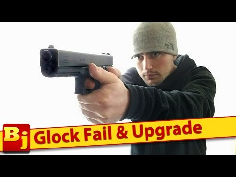 Glock Fail & Upgrade - Slide Release Install - WCW