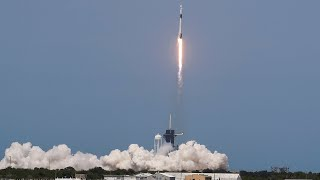NASA, SpaceX launch historic Falcon 9 flight