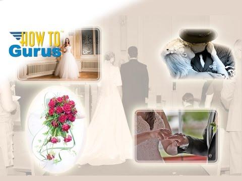 Photoshop Wedding Photo Editing : Creating Collages : CS5 CS6 CC 2018 Tutorial