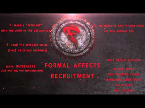 FormalAffects- Recruitment Challenge [CLOSED/ANOTHER AT 200 SUBS]