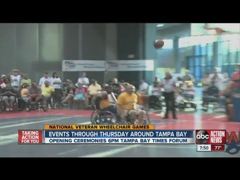 ABC Action News Weekend Edition: Wheelchair Games
