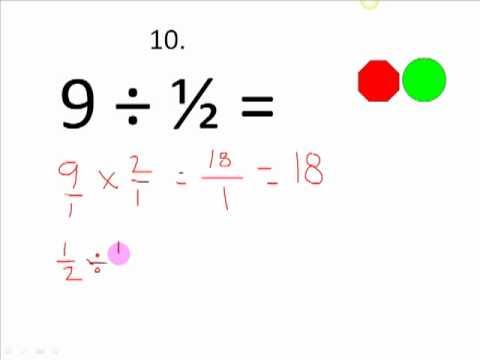 Basic Math SKills Self Test Number 3