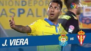 Jonathan Viera vs Sporting de Gijón 07/01/2017 | UD Las Palmas 1 Sporting 0