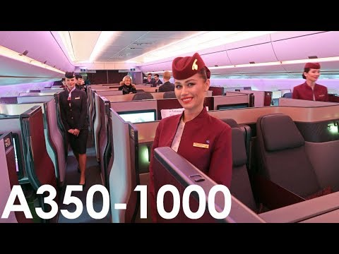 Qatar Airways The World's FIRST A350-1000 Flight