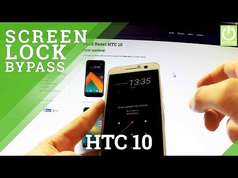 Hard Reset HTC 10 -  How to Delete All Data and Bypass Password in HTC