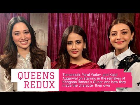 Xxx Mp4 Tamannaah Bhatia Parul Yadav Amp Kajal Aggarwal Interview With Rajeev Masand On Queen Remake 3gp Sex