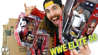 Ringside Collectibles WWE Mattel Elite 50 New Toy Set Haul Package Unboxing!!