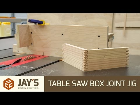 Table Saw Box Joint Jig - 229