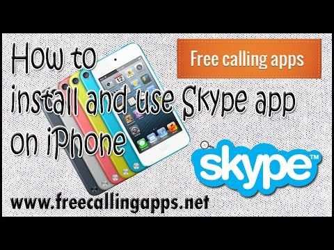 how to use skype on iphone