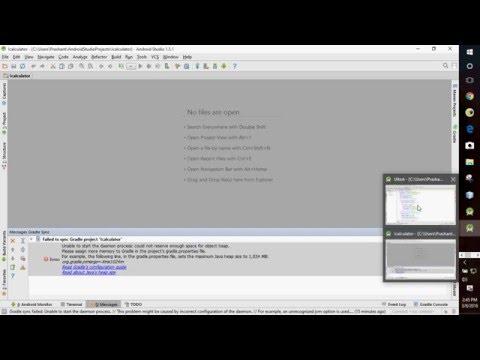 Gradle Sync Error in Android Studio SOLVED
