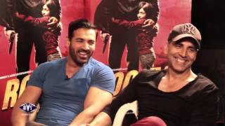 Akshay Kumar and John Abraham Rapid Fire  - Karan Singh Chhabra - AVS