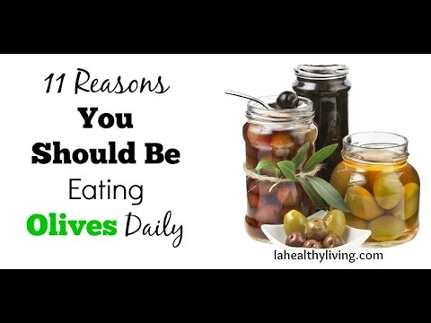 Why You Should Be Eating Olives Daily