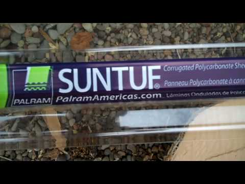 How to install SUNTUF Polycarbonate Roofing