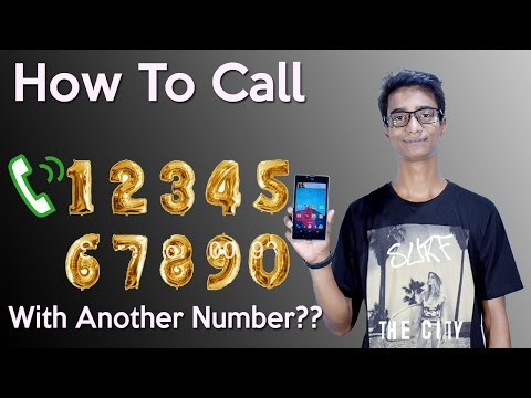 How To Call Someone With Another Number?? (Hindi) Kisi Ko Kisi Bhi Number Se Kaise Call Kren.