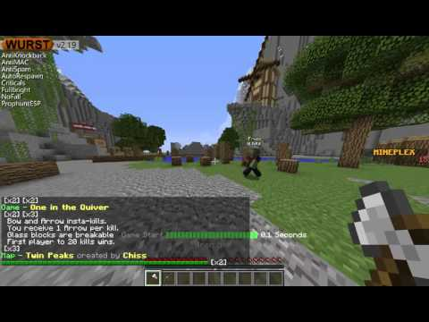 Minecraft: (fly)hack on Mineplex Tutorial